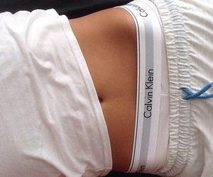 belly, body, and Calvin Klein image