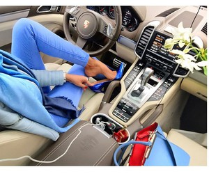 fashion, car, and blue image
