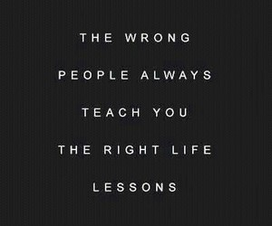lessons, life, and quotes image