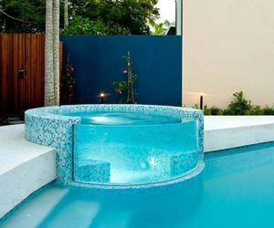 pool, house, and blue image