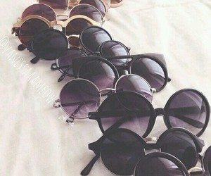sunglasses, summer, and vintage image