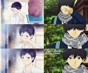 anime, ao haru ride, and boy image