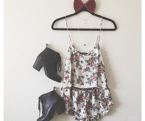 bow, fashion, and girl image