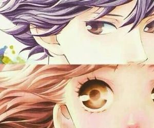 anime, ao haru ride, and blue spring ride image