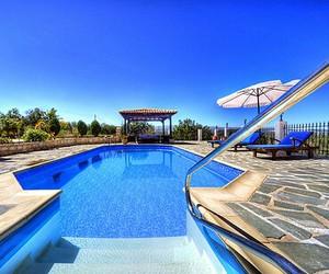 luxury, pool, and sun image