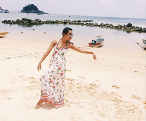 asian, beach, and summer2015 image