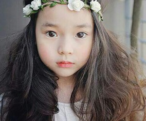 asian, girl, and kids image