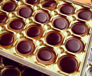 chocolate, food, and toffifee image