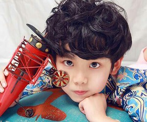 asian, kids, and model image