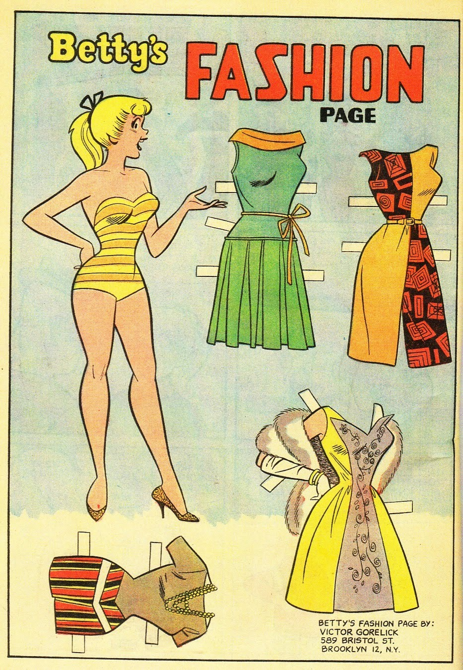The Paper Collector Betty and Veronica, 20