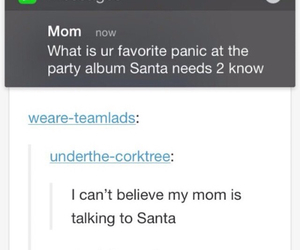 funny, panic! at the disco, and tumblr image