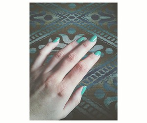 blue, nails, and carpet image