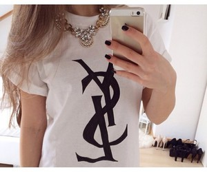YSL and iphone image