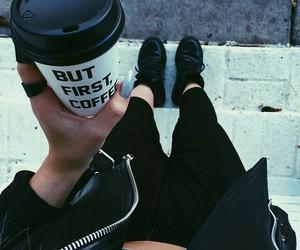 coffee, black, and grunge image