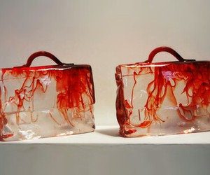 bag and blood image
