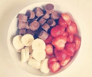 chocolate, strawberry, and banana image
