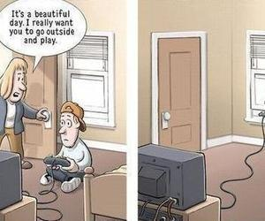 funny, game, and play image