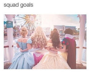 princess, disney, and goals image