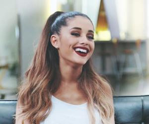 ariana grande, smile, and celebrity image