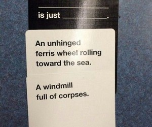 funny, lol, and cards against humanity image
