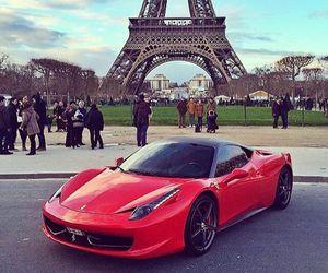 car, paris, and luxury image