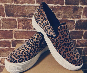 leopard and slip-on image
