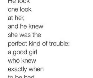 quotes, trouble, and her image