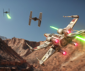 spaceship, star wars, and battlefront image