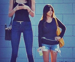 Kendall, tall, and jenner image