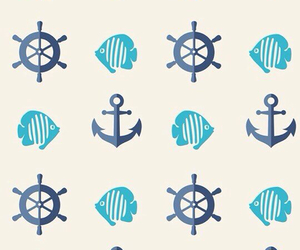 wallpaper, anchor, and patterns image