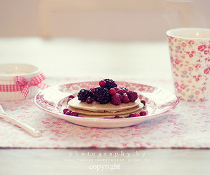 cute, food, and pancakes image