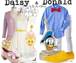 couple, duck, and outfit image