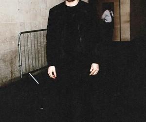 ed sheeran, black, and boy image