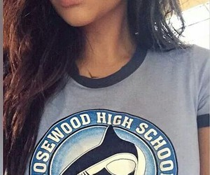 high school, shay mitchell, and sharks image