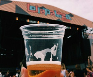 beer, brazil, and Lollapalooza image