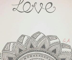 love, art, and draw image