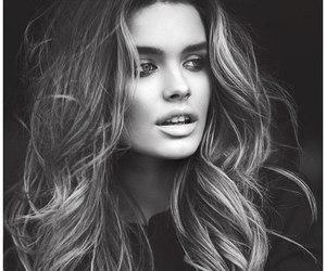 girl, lips, and model image