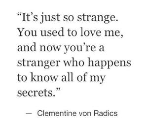 quotes, secrets, and strangers image