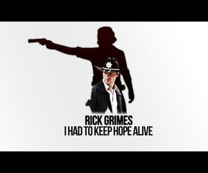 alive, hope, and rick image