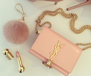 bag, luxury, and pink image