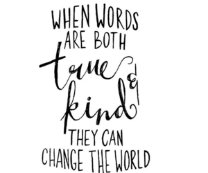 quote, words, and kind image