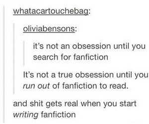 book and fanfiction image