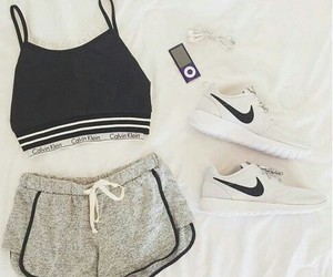 clothes, Just Do It, and outside image