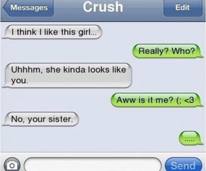 crush, funny, and lover image