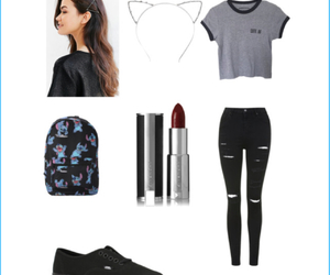 clothes, Polyvore, and cute af image