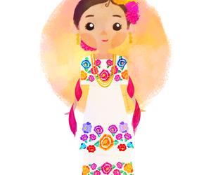 dress, mexico, and yucatan image