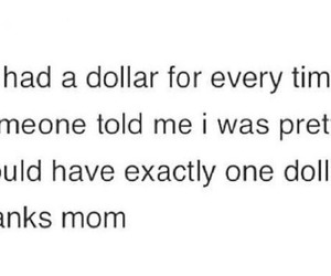 mom, pretty, and dollar image