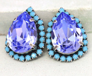 accessories, blingbling, and earrings image