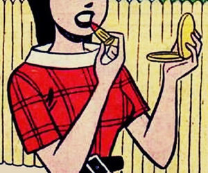 comic, Archie, and veronica lodge image