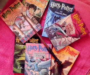 books, hp, and potter image